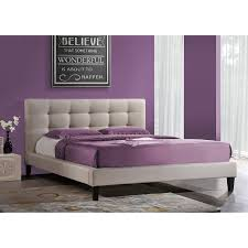 Sears Platform Beds by Beautiful Purple Wall Colors For Modern Bedroom Design With Cherry