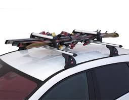 porte skis et portasnowboard pour barres de toit fabbri aluski