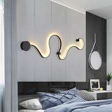 großhandel moderne led wandleuchten schlafzimmer nachtwandleuchten wohnzimmer wand beleuchtung indoor nordic len weiß kaltes weißes licht warm