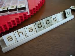 Standard Scrabble Tile Distribution by Ambigrammic Letter Tiles
