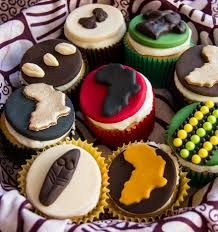 October As You Know Is Black History Month How Cool Are These African Themed Cupcakes By Delights Cynthia Celebrating Arts And Crafts