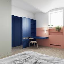 Interiors That Use Colour Blocking To Segment Space