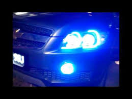 chevrolet captiva with projector lights fog l