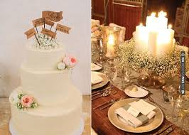 Babys Breath Wedding Cake Image Via Corinthians Flowers Utterly Engaged Left And Right
