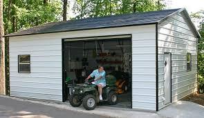 metal garages florida steel garages delivered with free setup in