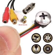mini micro spy camera cam pinhole hidden button home cctv
