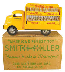 Smith-Miller, Toy Truck Original, Coca Cola Truck