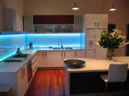 gorgeous kitchen cabinet lighting with led above undermount