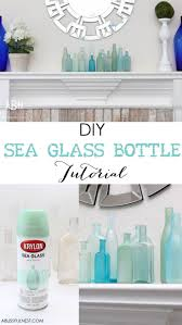 Decorative Wine Bottles Diy by Best 25 Spray Painted Bottles Ideas On Pinterest Paint Bottles