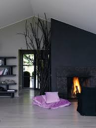 this living room and decor grey seems like navy blue