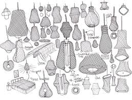 Drawings Crane And Loom Lighting Interior Design Sketches