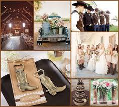 Rustic Western Wedding Ideas From HotRef