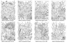 Adult Coloring Portfolio Set 3