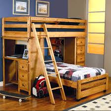 Queen Loft Bed Plans by Queen Loft Bed With Desk Bunk Combo Best Home Prepossessing Beds