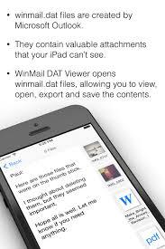 WinMail DAT Viewer for iOS — LawBox LLC