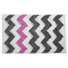 amazon com interdesign microfiber chevron bathroom shower accent