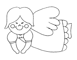 Flying Angel Coloring Pages