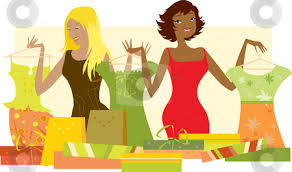 Selling Clothes Clipart