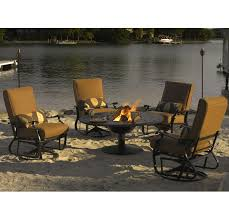 Telescope Patio Furniture Dealers by Fire Pit Patio Set By Telescope Casual Furniture Furniture For Patio