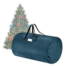 Tiny Tim Totes Green Canvas Christmas Tree Storage Bag Large For 9 Foot