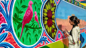 100 Truck Art Ists Paint Walls With Truck Art In Sindh Daily Times