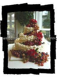 Cakes Decorated With Fruit by Imagine Fall Wedding Cakes With Bright And Colorful Autumn Flowers