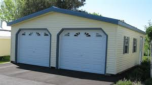 Vinyl Two Car Garage For Sale in Virginia and West Virginia