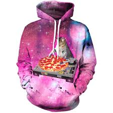 cat hoodies dj pizza cat hoodie all print apparel getonfleek