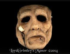 Scary Halloween Half Masks by Meateater Scary Halloween Mask August 2012 Semi Annual Halloween