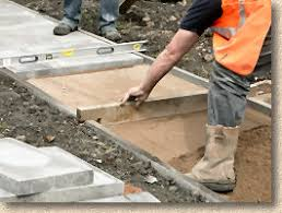 how to lay a garden patio pavingexpert aj mccormack and how to lay flags and slabs