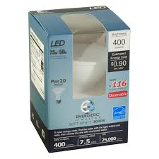 par20 led bulb 7 5 watts dimmable 50w equiv 400 lumens by