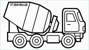 100 Construction Truck Coloring Pages Crane Fresh