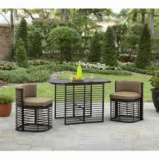 Patio Chairs With Nesting Ottoman Patio Ideas