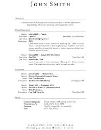 First Job Resume Example Basic Template For Sample Examples Ideas About Format Pdf Cover Lette