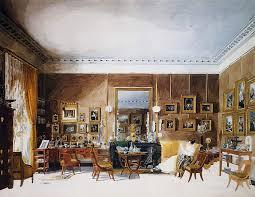 wohnzimmer der herzogin berry bei tuileries aquarell garnerey auguste 1785 1824 frankreich 19 jahrhundert
