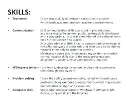 What Are Key Skills On A Resume Skill For Customer Service