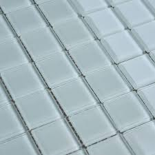 wholesale free shipping white glass mosaic tile design