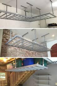 Hyloft 45 X 45 Ceiling Storage Unit by Best 20 Overhead Garage Storage Ideas On Pinterest Diy Garage