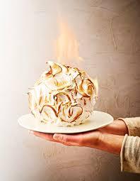 recette de dessert pour noel alaska flambé pour 4 personnes recettes