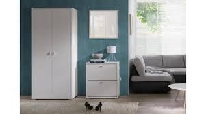 01871 garderobe 3 anter schrank kommode spiegel eiche
