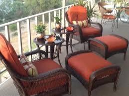 Azalea Ridge Patio Furniture Replacement Cushions by Better Homes And Gardens Azalea Ridge Ottomans Set Of 2 Walmart Com