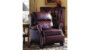 Stickley Furniture Leather Recliner by Stickley Durango Recliner Gallery Furniture