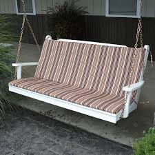 68 x 38 Full Outdoor Cushion For Benches And Porch Swings