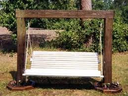100 bench swing frame patio swings patio chairs depot