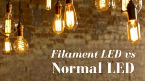 filament led vs normal led which is better flux smart lighting