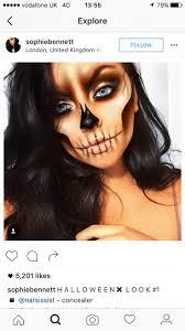 Halloween Contact Lenses Uk by 7 Best Halloween Makeup Images On Pinterest
