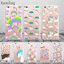 Cell Phone Cases for Iphone 6 plus Cute Unicorn Case Cover for