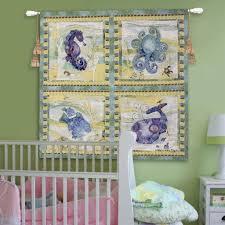 100 Robbin Rawlings Playful Sea Wall Tapestry By