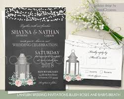 Lantern Wedding Invitations Lantern Wedding Invitations Set