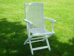 100 Folding Chairs With Arm Rests Klara Chair With Rests White Eden Wood